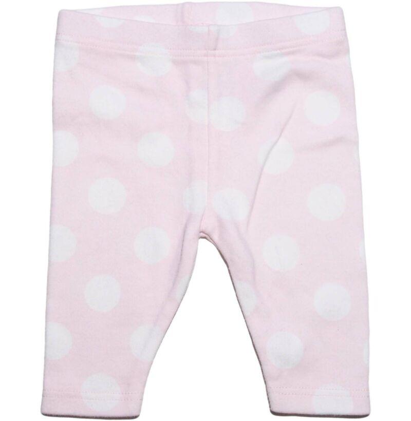 Halvány rózsaszín pöttyös nadrág (50)