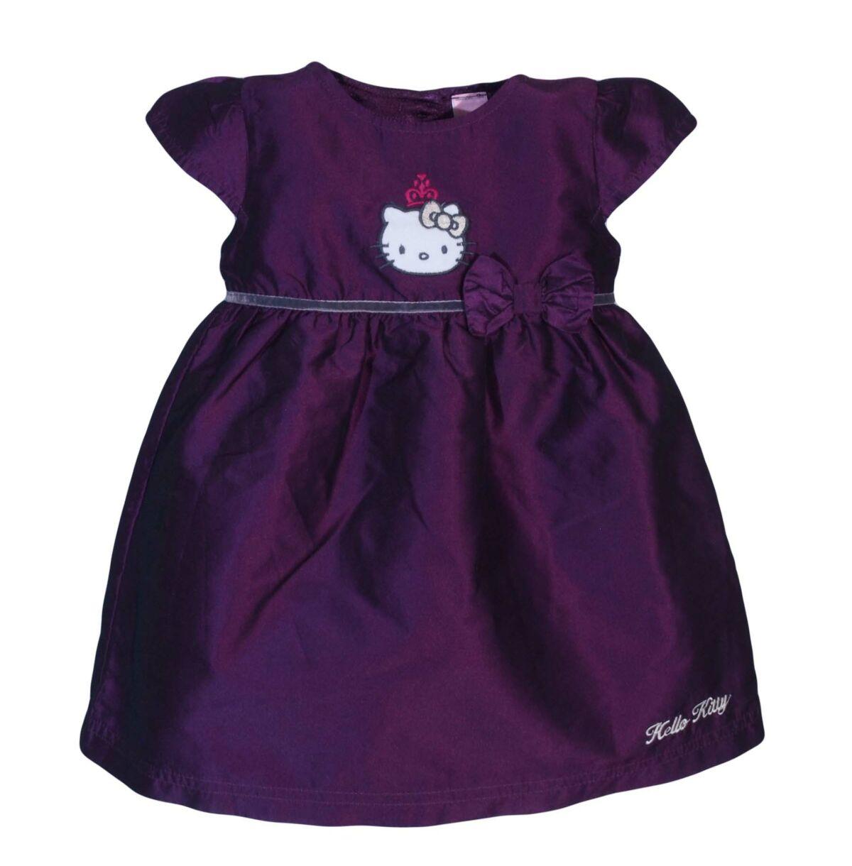angol használt gyerekruha · Padlizsán-lila Hello Kitty-s ruha (74-80) 24000b9d6a