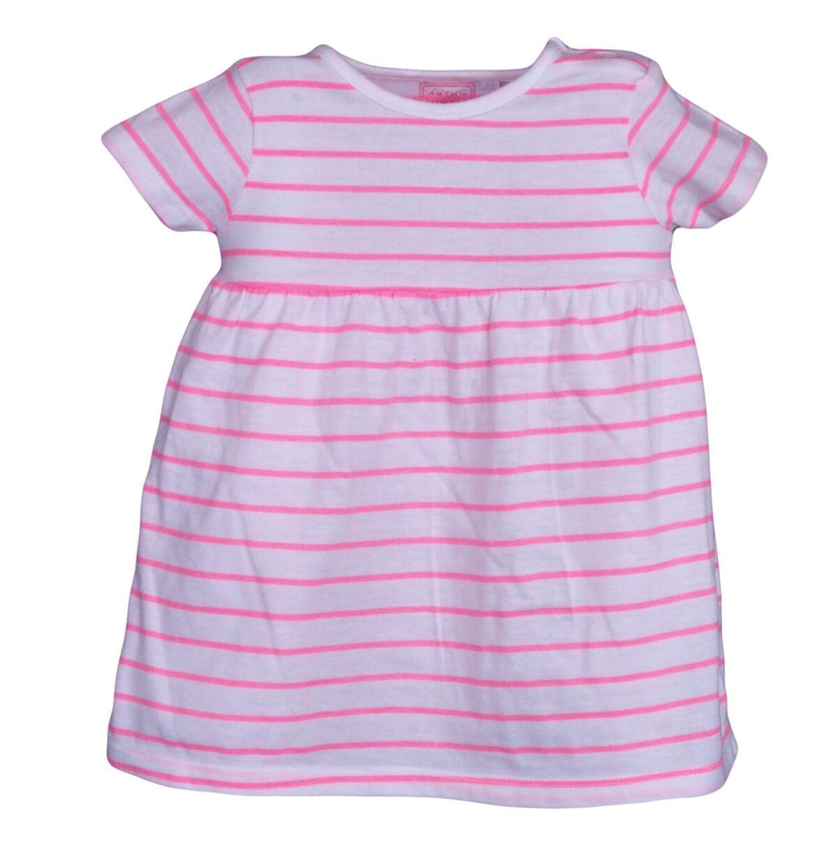e3f1f7babf gyerekruha. Rózsaszín csíkos ruha ...