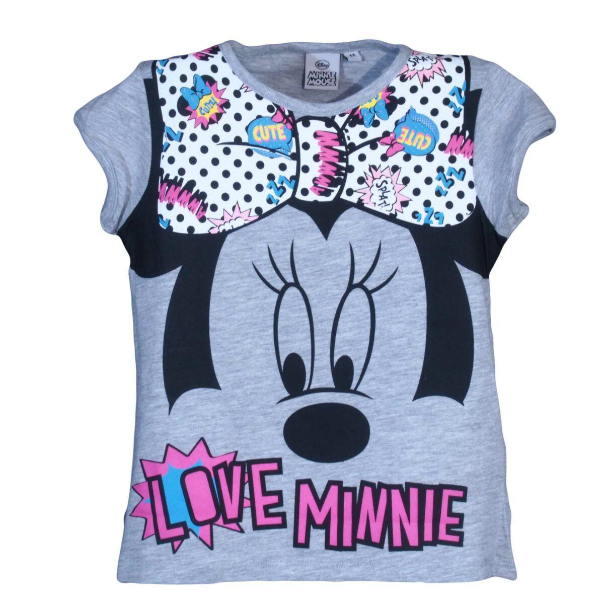 Szürke Minnie-s póló (2-8 év) több méretben