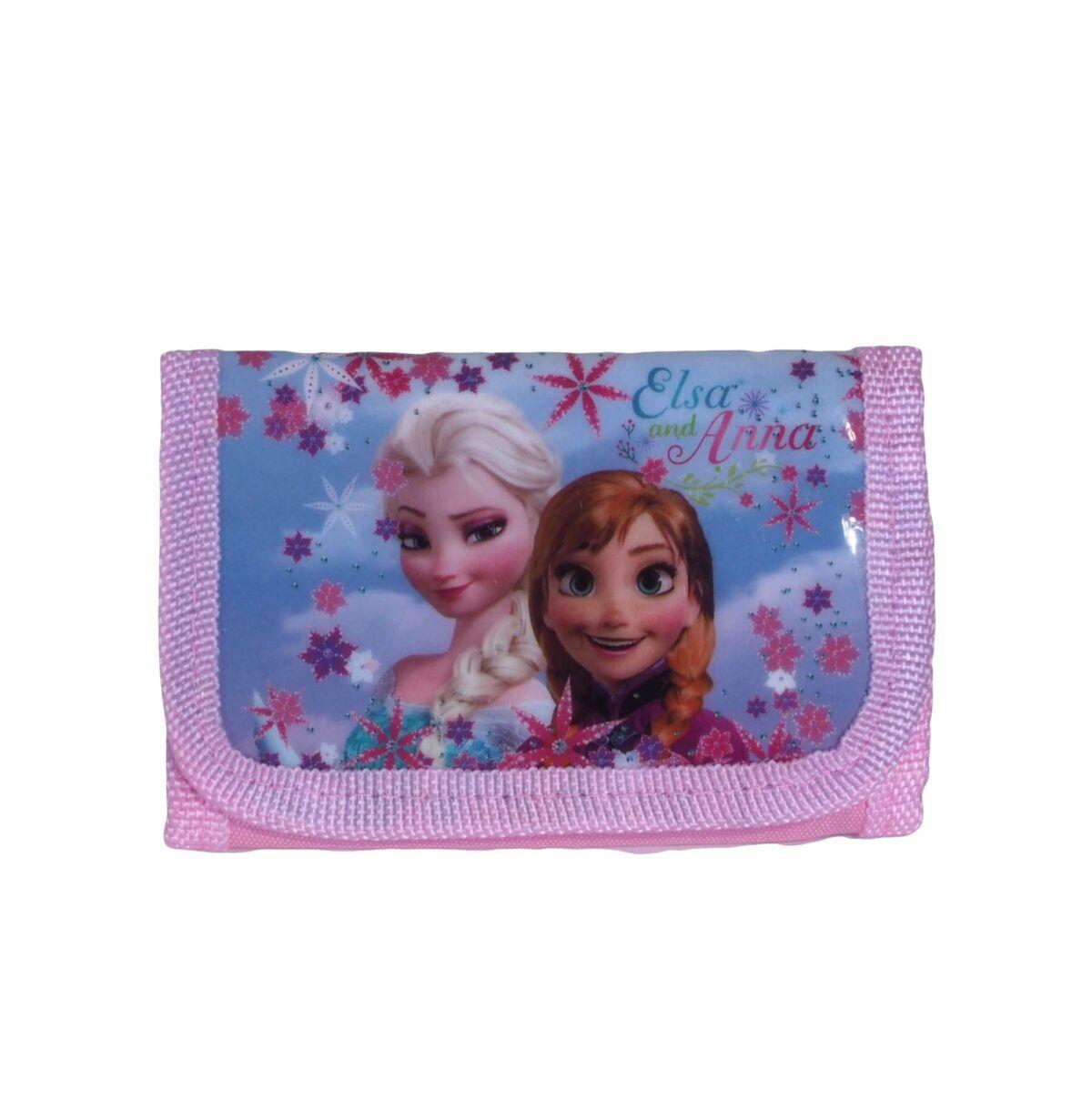 Rózsaszín jégvarázs pénztárca