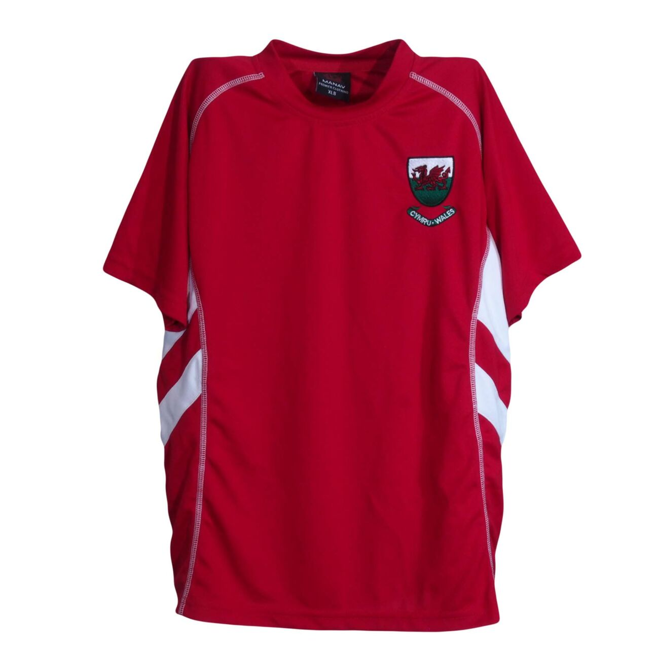 Piros sportfelső (13-14 év)