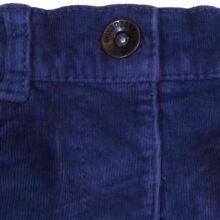 Kék mikrokord nadrág (62-68)