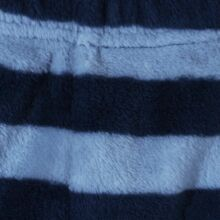 Kék csíkos plüssnadrág (62-68)