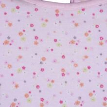 Rózsaszín virágmintás felső (56-62)