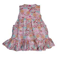 Színes fodros ruha (68-74)