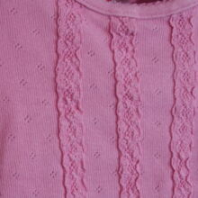 Rózsaszín fodros felső (68-74)