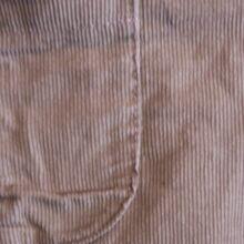 Homokszínű mikrokord nadrág (68-74)