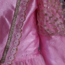 Rózsaszín királylányruha (7-8 év)
