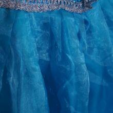 Kék hókristályos ruha (8-9 lév)