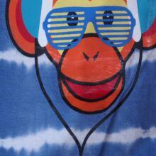 Kék majmos póló (1,5- 2 év)