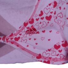 Rózsaszín Adidas boleró (4-5 év)