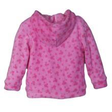 Rózsaszín Minnies babakabát,pulcsi (1-3 hó)