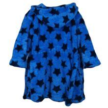 Kék csillagos fürdőköpeny (2-3 év)
