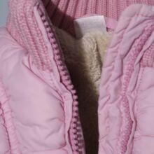 Rózsaszín steppelt mellény (80-86)