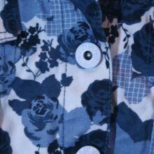 Kék rózsás kabát (5-6 év)