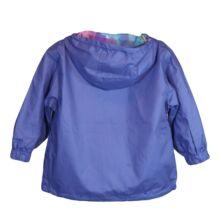 Lila vékony átmeneti kabát (9-10 év)