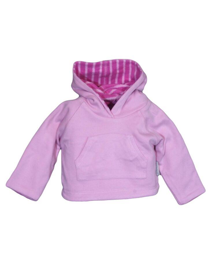 Rózsaszín kenguruzsebes pulcsi (56-62)