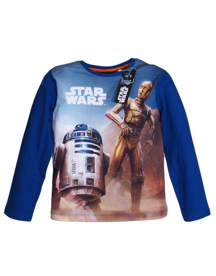 R2D2 Star Wars kék hosszúujjú