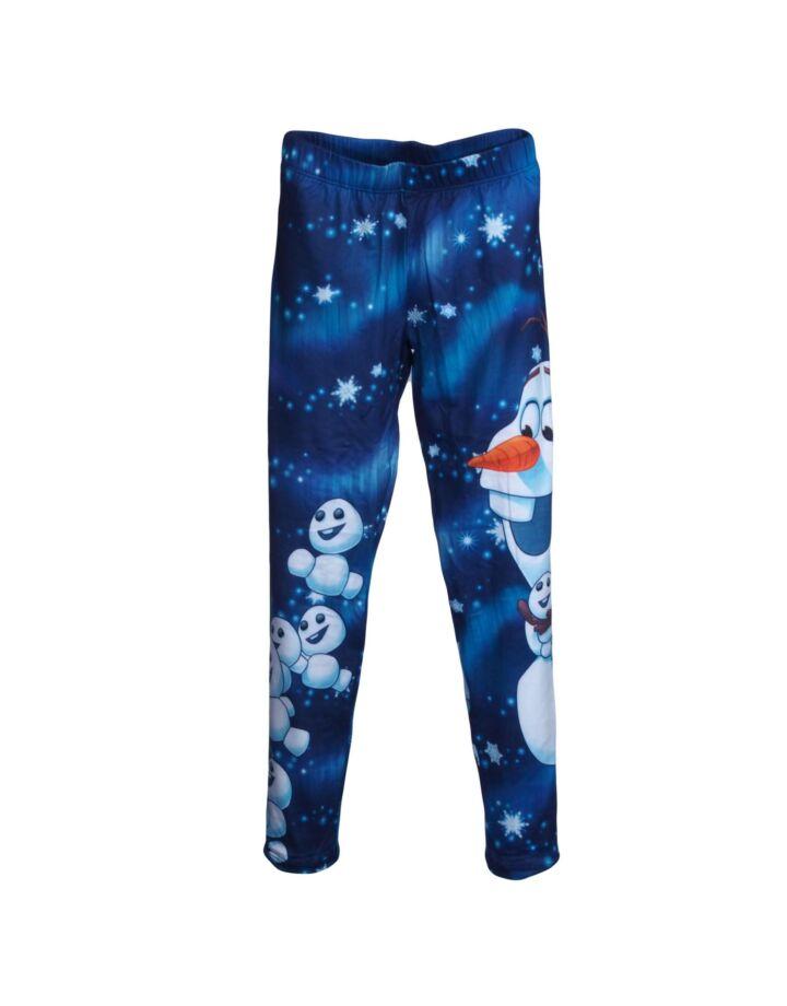 Sötétkék Jégvarázs  leggings