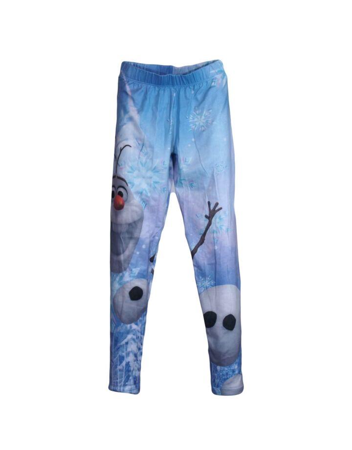Világoskék Jégvarázs leggings