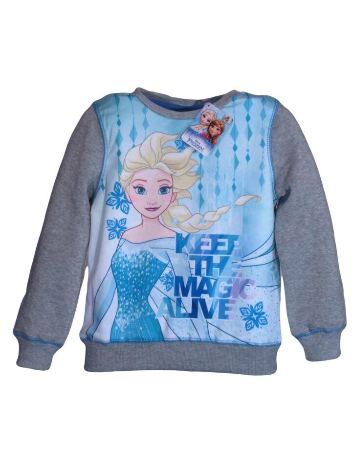 Szürke Elsa jégvarázs pulóver