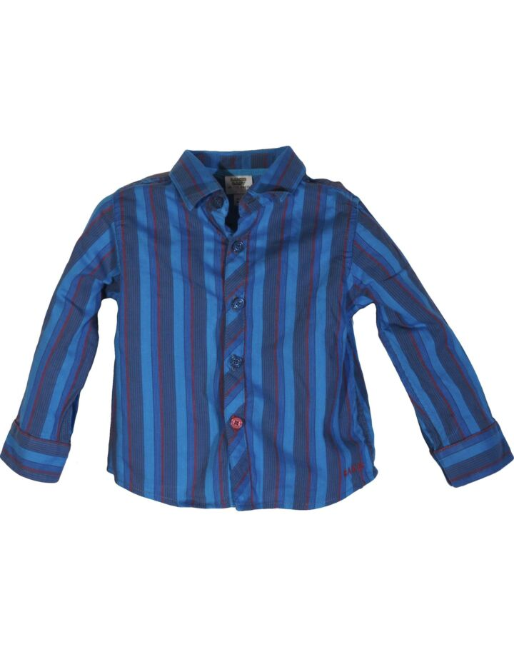 Kék csíkos ing (74-80)