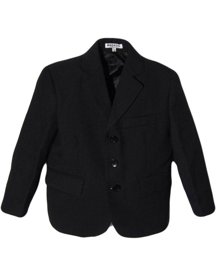 Fekete öltönykabát (98/104)