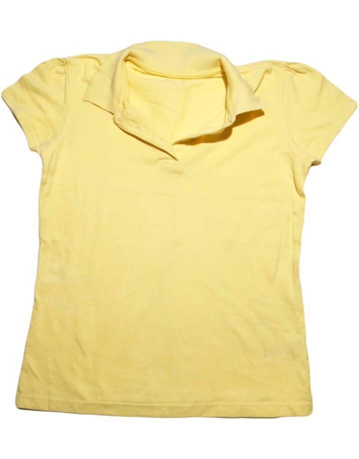 Sárga ingnyakú póló (12-13 év)