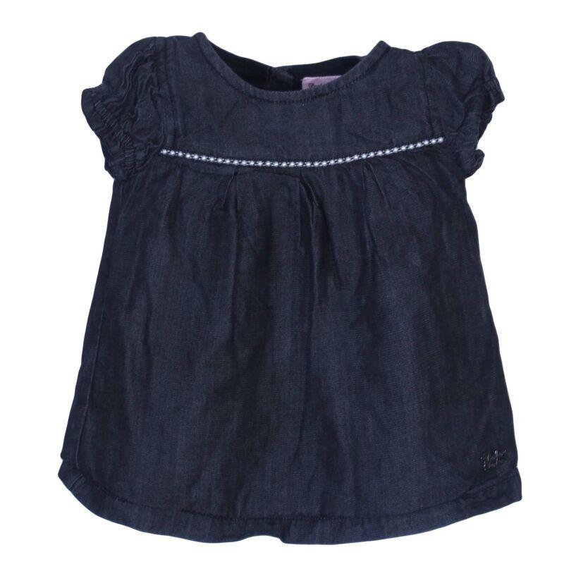 Fekete gyöngyös ruha (62-68)