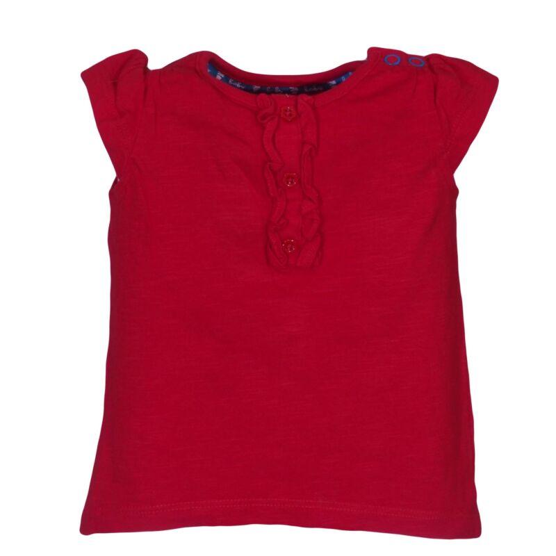 Piros fodros felső (62-68)