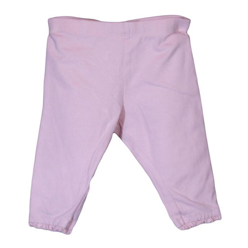 Halványrózsaszín fodros legging (62-68)