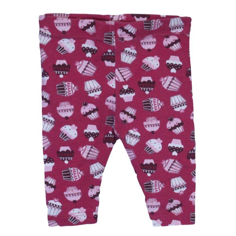 Bordó fagyis legging (56-62)