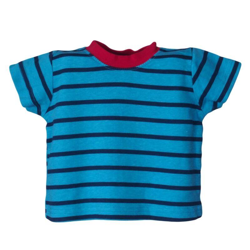 Kék csíkos póló (56-62)