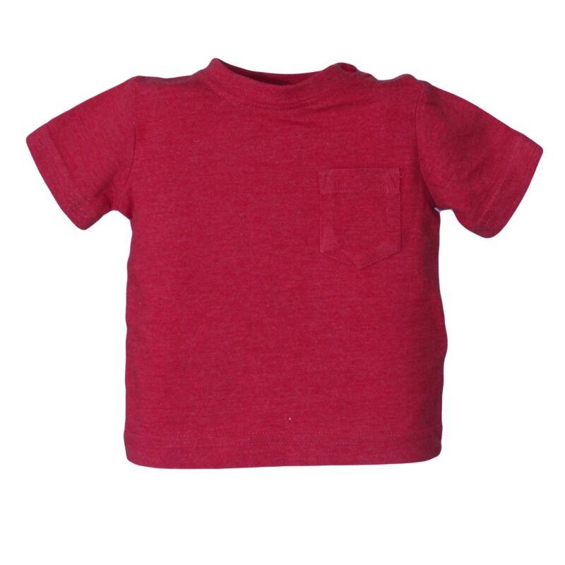 Piros zsebes felső (56-62)