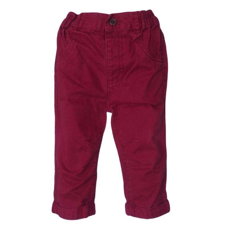 Bordó nadrág (74-80)