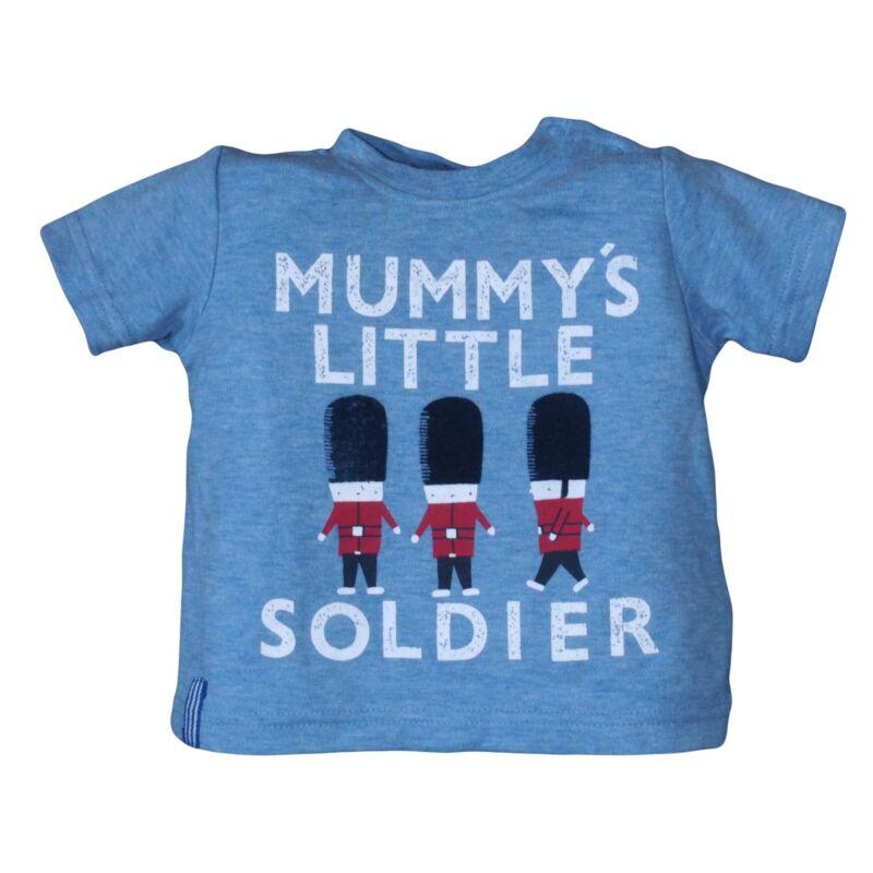 Kék Aglol katonás póló (56-62)