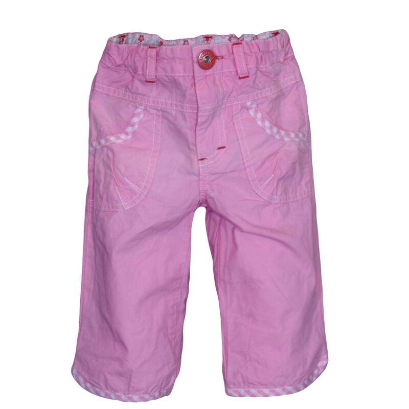 Rózsaszín vászonnadrág (74-80)