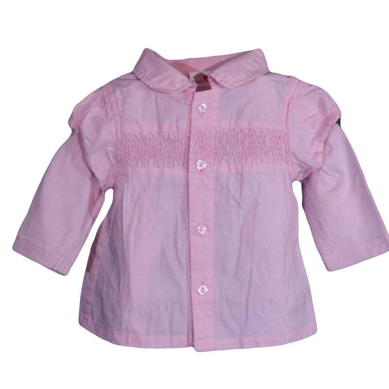 Rózsaszín húzott ing (62-68)