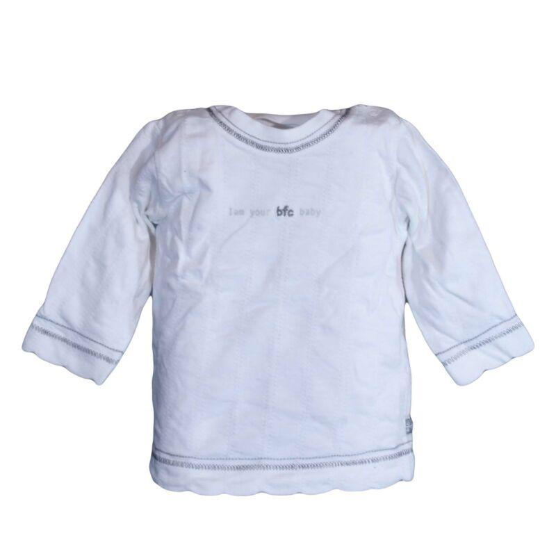 Fehér pamutfelső (50-56)