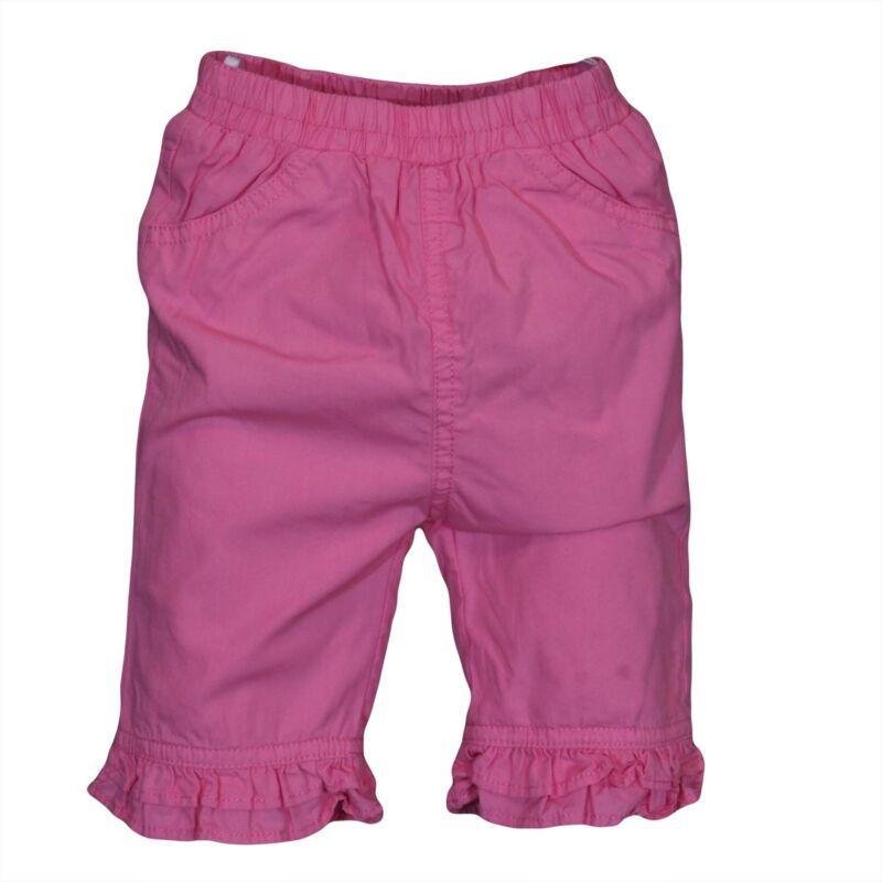 Rózsaszín fodros nadrág (56-62)