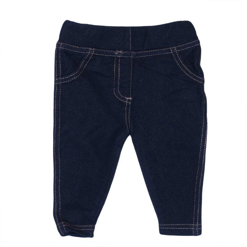 Sötétkék farmerhatású legging (50-56)