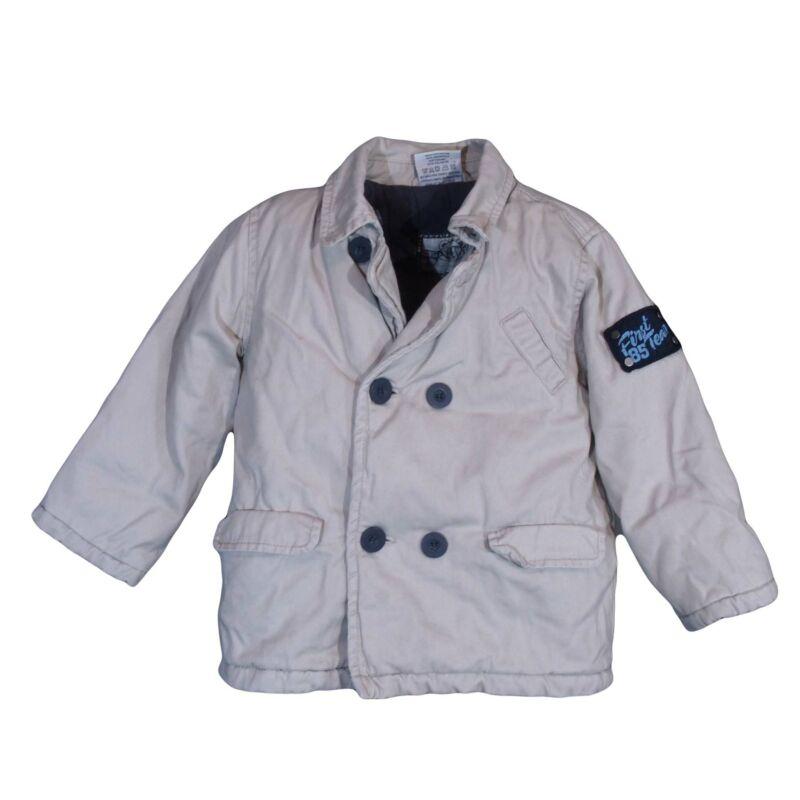 Bézs duplagombos kabát (1,5- 2 év)